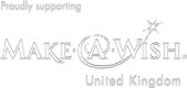 Proudly supporting Make a Wish UK